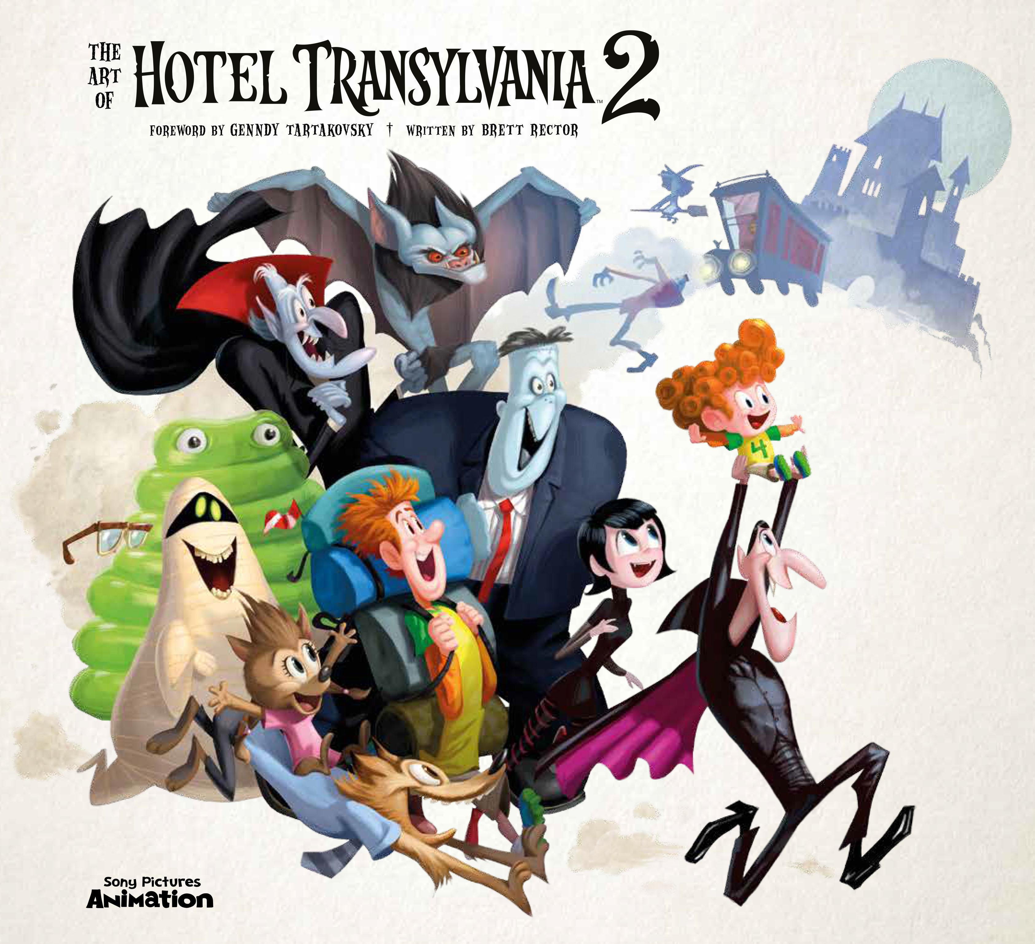 The Art Of Hotel Transylvania 2 Titan Books