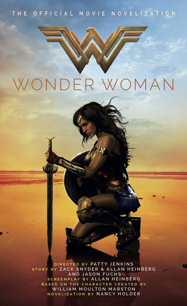 Wonder Woman The Official Movie Novelization Titan Books
