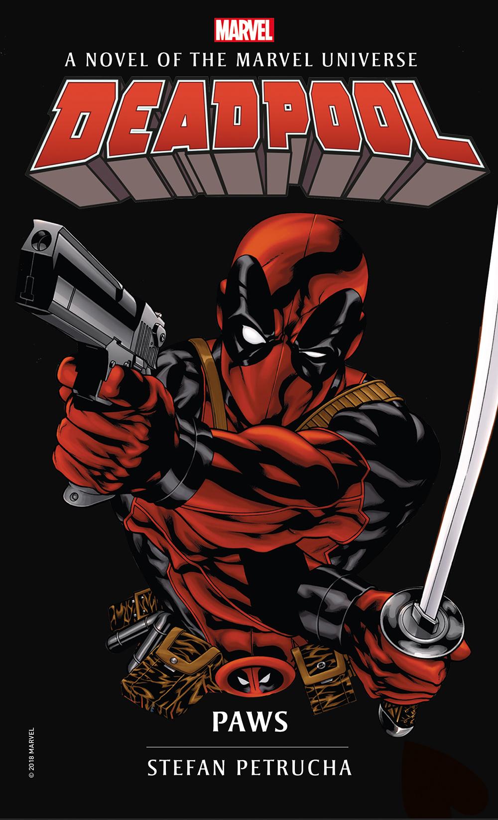 Marvel Novels Deadpool Paws Titan Books