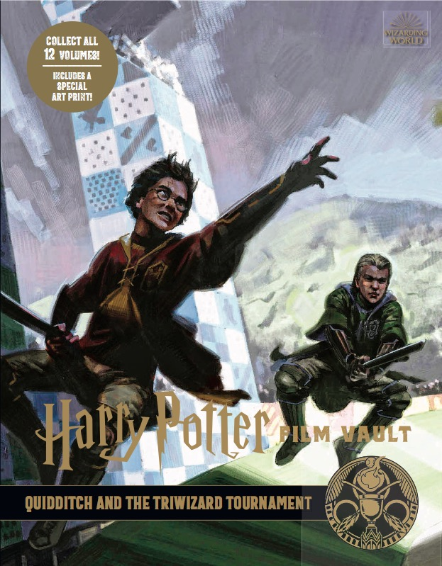 harry potter film vault  volume 7 quidditch and the