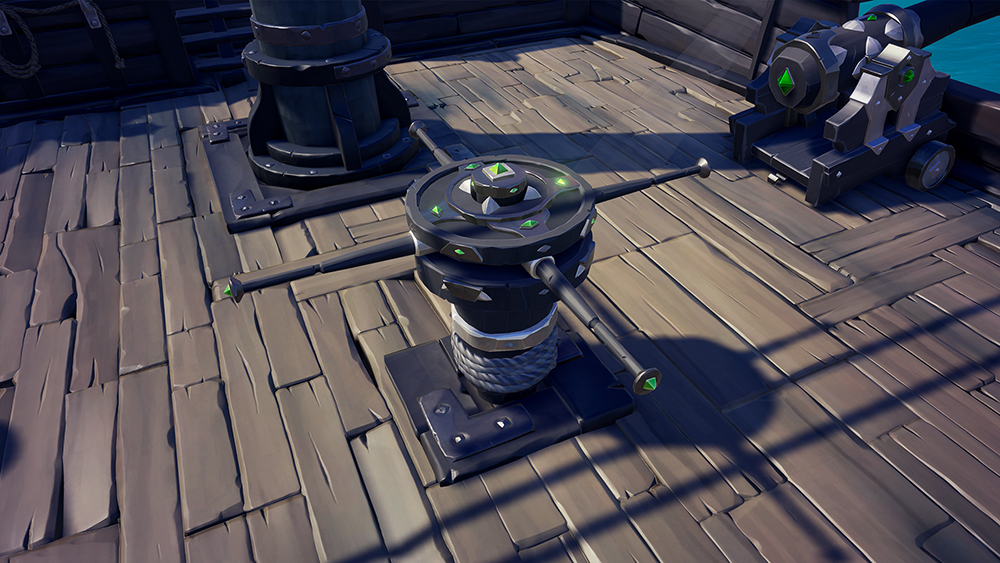 obsidian capstan - *CLOSED* Obsidian Capstan Giveaway [Sea of Thieves]