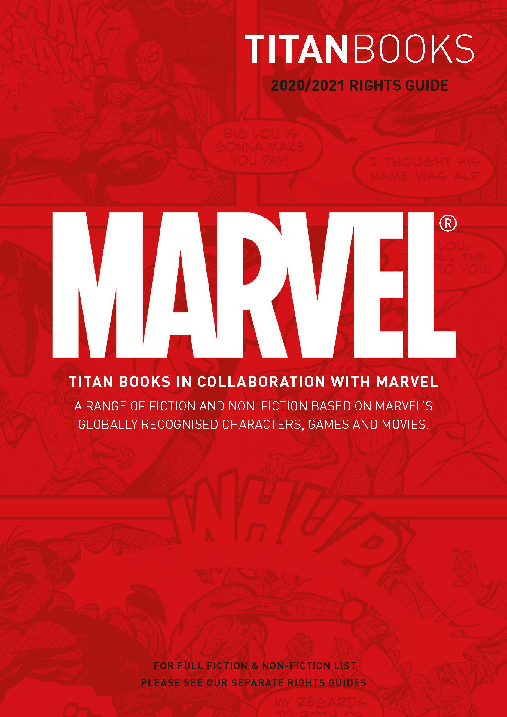 [Preview Image for 2. Marvel Fiction & Non-Fiction]